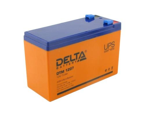 Аккумулятор 12V 7,2Ah DTM 1207