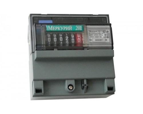 Счетчик 1-фазный Меркурий 10-80А 201.4