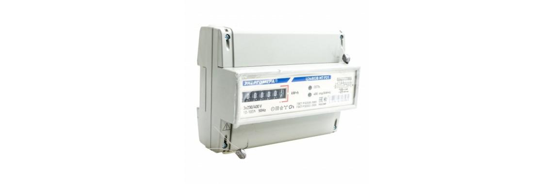 Счетчик 6803в 10-100А 380/220V МЕХ M7 Р31