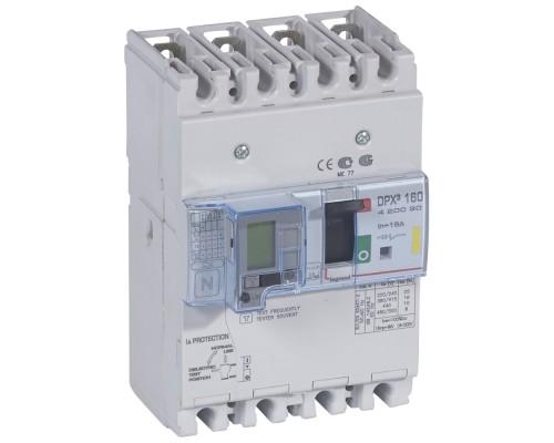 Автомат DPX3 160A трехполюсный 16кА Legrand - 420007
