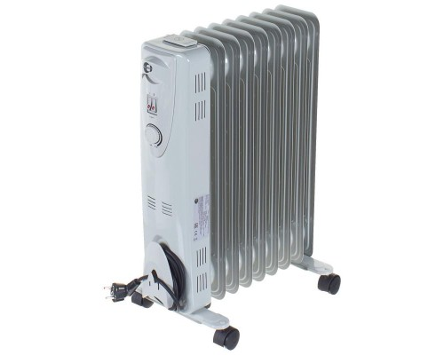 Обогреватель масляный 9 секций 2000Вт с вентилятором