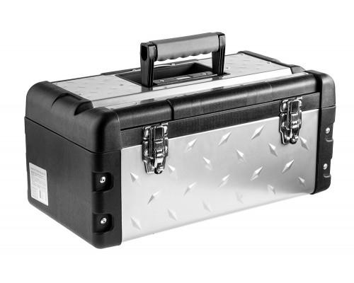 Ящик ЗУБР металлический для инструмента 38155-18