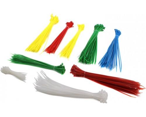 Набор стяжек цветных (50шт.)