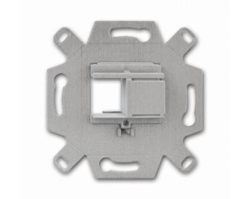 ABB адаптер с суппортом для информ. разъемов 1-2 вставки 0219/12