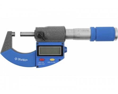 Микрометр цифровой 0-25мм (34482-25)