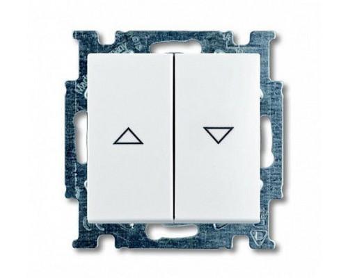 ABB выключатель для жалюзи 2-клавишный без фиксации Basic 55 2026/4 UC-94-507