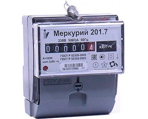 Счетчик 1-фазный Меркурий 10-80А 201.7