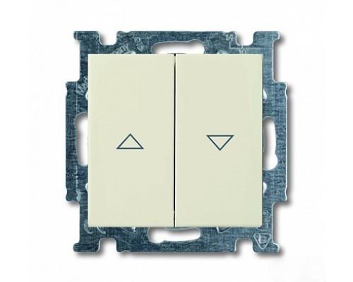 ABB выключатель для жалюзи 2-клавишный без фиксации Basic 55 2026/4 UC-92-507