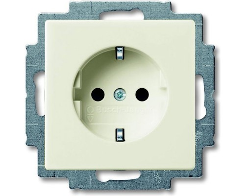 ABB розетка 1-я с/з  Basic 55 20 EUC 92-507