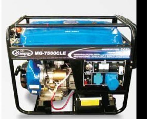 Генератор бензиновый 7,6 кВт автозапуск (Китай)