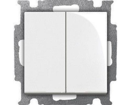 ABB переключатель 2-клавишный Basic 55 2006/6/6 UC-94-507