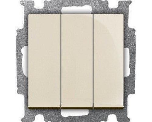 ABB выключатель 3-клавишный Basic 55 106/3/1 UC-92-507