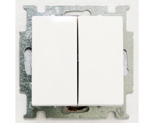 ABB выключатель 2-клавишный Basic 55 2006/5 UC-94-507