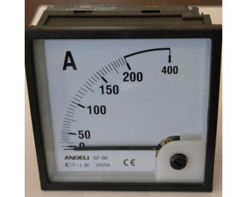 Амперметр 200/5А 72*72 АС