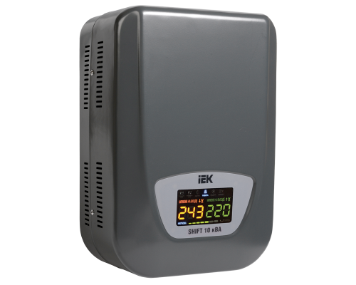Стабилизатор (настенный) 10кВА IVS12-1-10000 Shift IEK