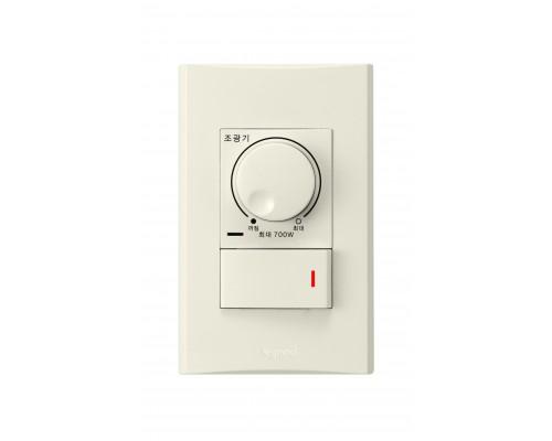 Anam Zunis Светорегулятор 700W для л/н с выключателем с подсветкой 7102 07I