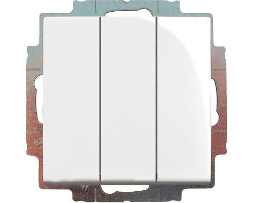 ABB выключатель 3-клавишный Basic 55 106/3/1 UC-94-507