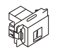 Anam Zunis Вставка компьютерной розетки 7104 10I
