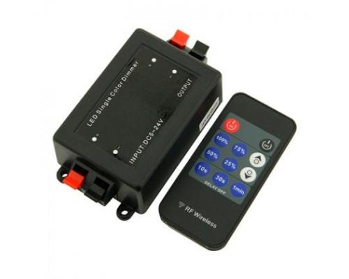 Диммер для одноцветной ленты 12V 8A IP20 511711