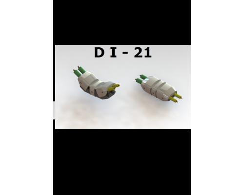 Коннектор DI-2 0,75мм 10А
