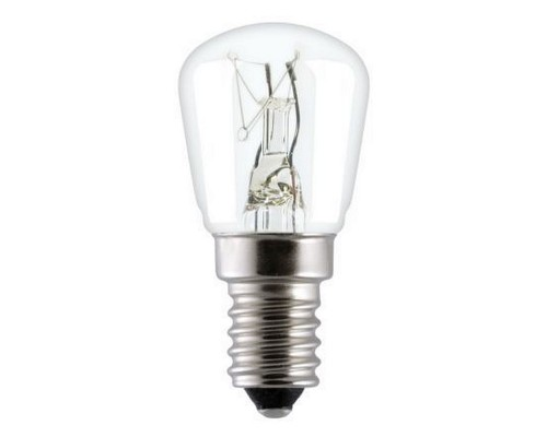 Лампа 15W E14 230V (для холодильников)