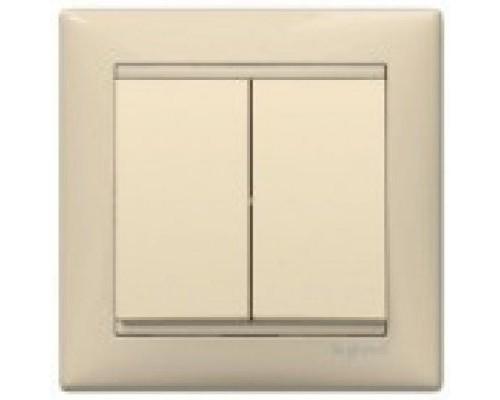 Legrand выкл/переключатель 2-клавишный 774308
