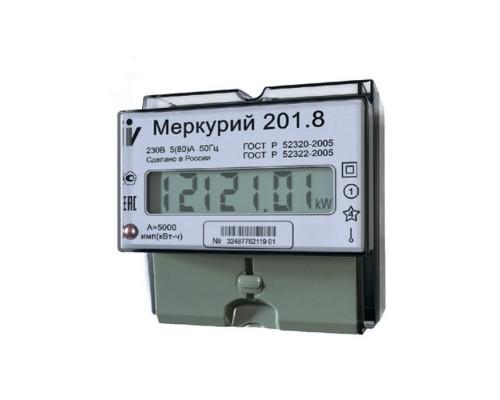 Счетчик 1-фазный Меркурий 201.8