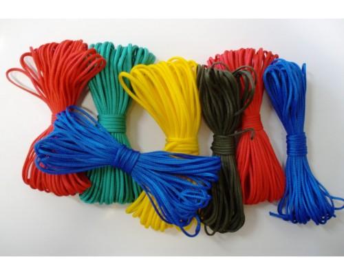Шнур вязаный полипропиленовый 6мм (м)